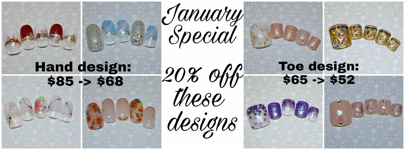 January Specials, Happy New Year! – Salon Glitter